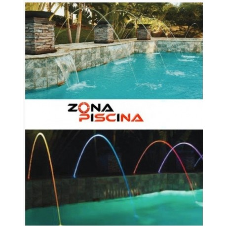 Fuente para piscinas, estanques y spas