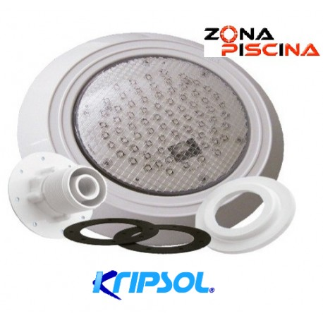 Proyector foco led blanco para piscinas poliester Kripsol, pep110