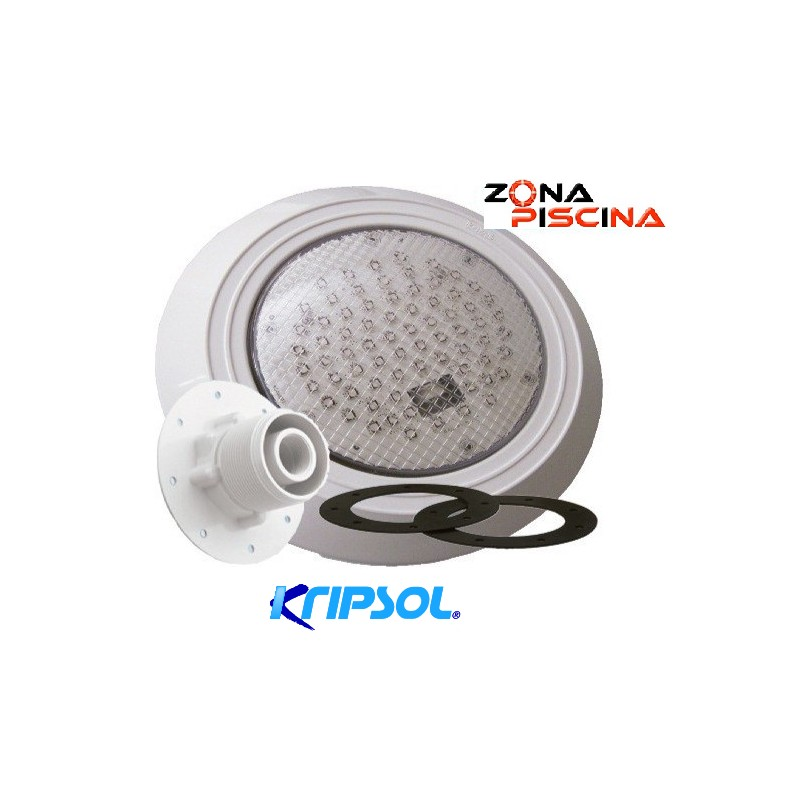 Proyector foco led colores para piscinas liner kripsol for Foco led piscina