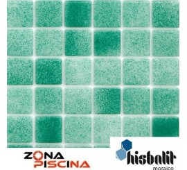 Gresite piscinas Hisbalit verde ADRIATICO NIEBLA