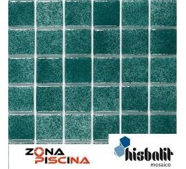 Gresite piscinas Hisbalit verde MARMARA NIEBLA