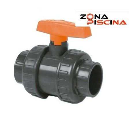 Válvula de PVC con llave y bola (VEP AKROS KRIPSOL)