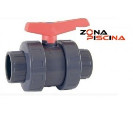 Válvula de bola ASTRAL piscinas PVC