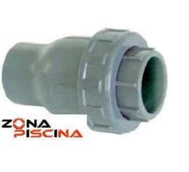 Válvula retención en PVC anti retorno con cierre EPDM