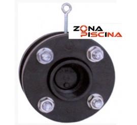 Válvula retención de clapeta en PVC anti retorno VAC10