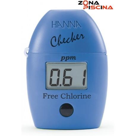 Analizador compacto de cloro libre