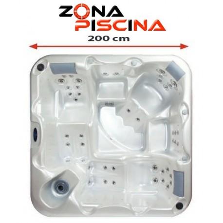 Spa modelo JAVA, este spa con completo equipamiento