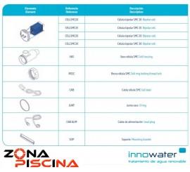 Repuestos / Recambios clorador salino Innowater de piscinas