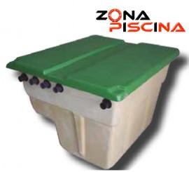 Caseta completa con equipo depuracion para piscinas