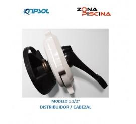 Repuesto / Recambio cabezal distribuidor para valvula selectora kripsol
