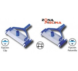"Carro limpiafondos aluminio para piscinas ""CAJA 6 UDS."""