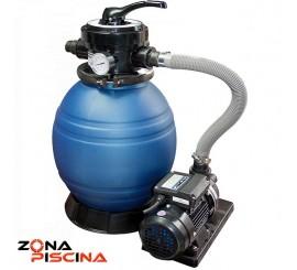 Conjunto filtracion para depuradoras de piscinas portables, portatiles