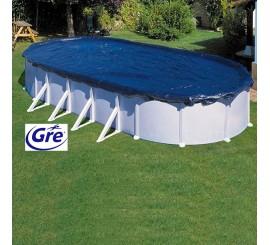 Cubierta invierno para piscinas Gre redonda