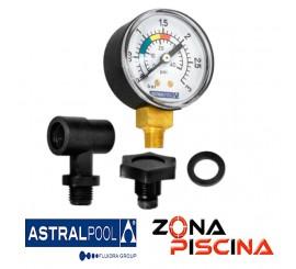 Repuesto kit manómetro con salida lateral AstralPool