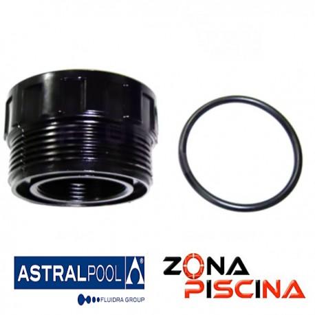 """Repuesto racord 1½"""" + junta para conexión filtro AstralPool 4404010104."""