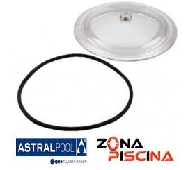 Repuesto tapa transparente + junta filtro Millennium AstralPool 4404180105.