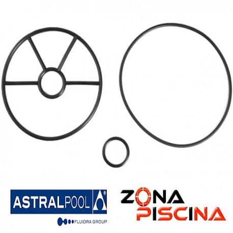 """Repuesto junta estrella 1½"""" para válvula selectora (Bayoneta) AstralPool 4404121105."""