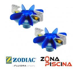 Kit de hélices y cepillos limpia fondos MX8 / MX9 Zodiac R0756300.