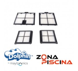 Repuesto Kit filtros primavera limpia fondos automáticos Dolphin