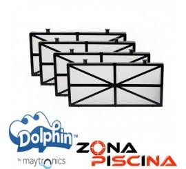 Repuesto Kit filtros primavera de acceso inferior Dolphin Maytronics