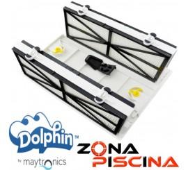 Kit para convertir de bolsa a filtros de cartucho Dolphin Maytronics