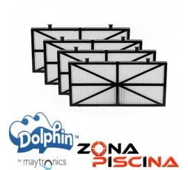 Repuesto Kit filtros ultra fino de acceso superior Dolphin Maytronics 9991432.