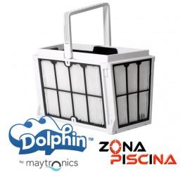 Cesto filtración para limpia fondos Dolphin Maytronics.