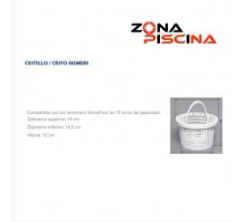 Recambio / Repuesto generico cestillo Skimmer Astralpool de 15/17 litros piscinas