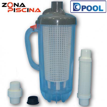 Filtro recogehojas y suciedad para limpiafondos de piscinas