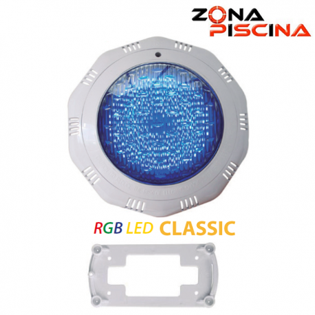 Proyector foco led colores para piscinas classic