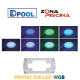 Proyector foco piscinas led blanco y colores WGB Nordic Epoxy