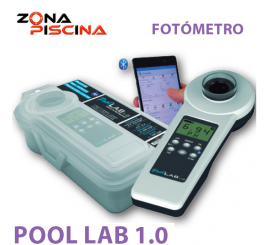 Fotometro analizador electronico Pool LAB 1.0 para piscinas, spas, jacuzzis