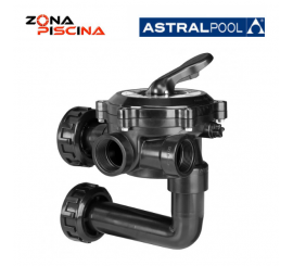 "Valvula selectora de 1½"" 34543 Flat lateral de AstralPool"