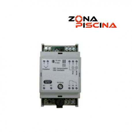 Automatismo de pulsadores piezoeléctricos para cuadro eléctrico de piscinas, spas, jacuzzi