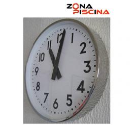 Reloj Horario Analógico de piscinas de competicion y olimpicas