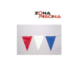 Gallardetes banderolas para piscinas de competicion