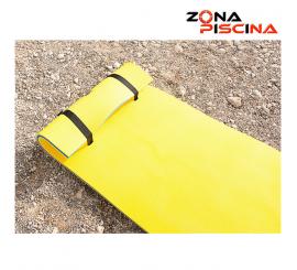 Tapiz flotante de una persona (90 x 260) para piscinas, lagos, playas