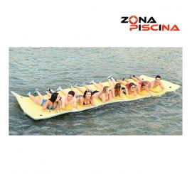 Tapiz Flow tapices flotantes de piscinas, lagos, playa, camping