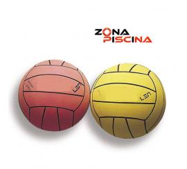 Balón de iniciación para waterpolo en piscinas de competición