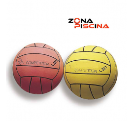 Balon femenino de waterpolo, piscinas de competicion