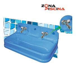 Lavabo infantil para vestuarios, baños, piscinas, zonas recreativas