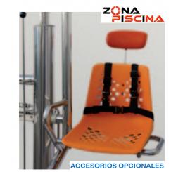 Elevador hidráulico fijo de acceso a las piscinas para discapacitados físicos