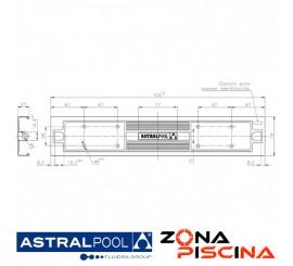Recambio peldaño Luxe 316 para escalera AstralPool.