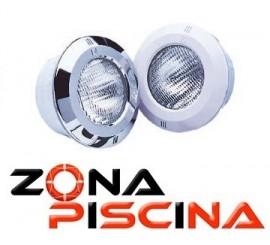 Proyector de nicho con LED DE COLOR RGB para hormigón.