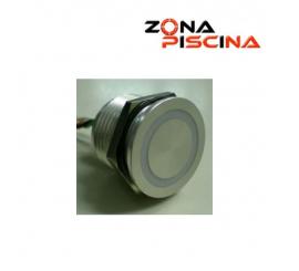 Pulsador piezoelectrico luminoso para spa, jacuzzi, piscinas