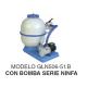Conjunto de filtración Granada piscinas portatiles Kripsol