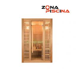 Sauna infrarrojos tradicional Vapeur, piscina, gimnasio, balneario