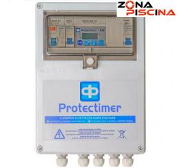 Cuadro electrico control digital con transformador 100 w. piscinas