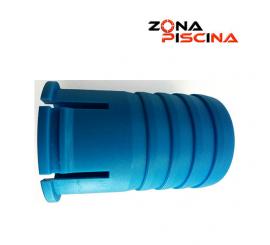 Racord carro limpiafondos manual para conexión manguera de piscina