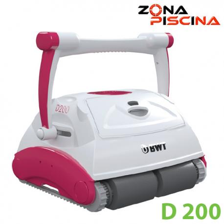 Limpiafondos robot automático eléctrico piscinas BWT D Line D200